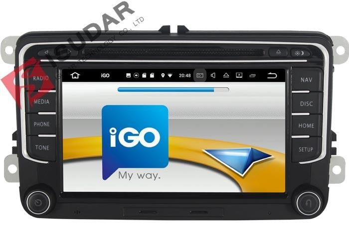 RCD510 RNS510 VW Tiguan Dvd Player Touch Screen Car Stereo With Navigation