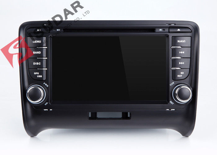 Wince MTK 3360 Audi Tt Dvd Player , Double Din Touchscreen Head Unit Support Ipod