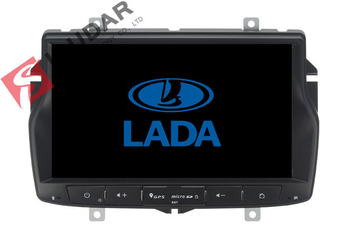 Russian Menu Lada Vesta Android Gps Car Stereo , 2 Din Android Head Unit TPMS Supported