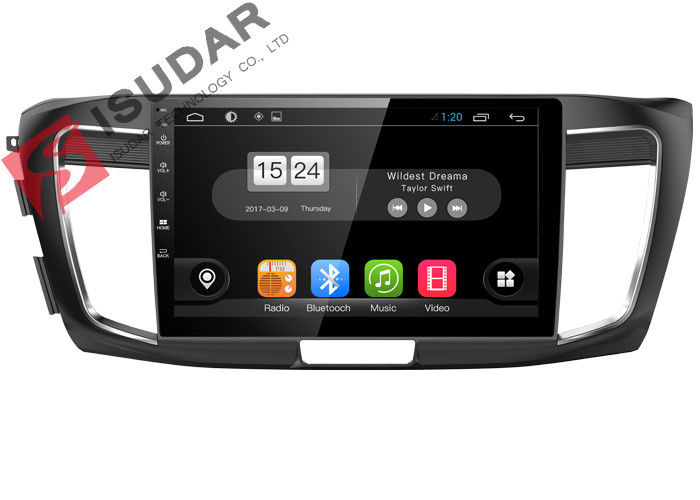 HD 1024*600 2013-2016 Honda Accord Navigation System With 4G RADIO 10.1 Inch